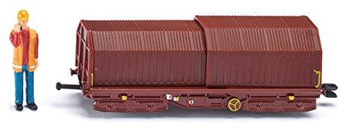 Siku - 1664 - Véhicule Miniature - Modèle À L'Échelle - Wagon De Marchandises - Echelle 1/64