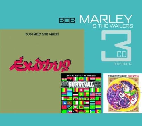 3 Original Cds 2: Exodus / Survival / Confrontatio by Bob Marley