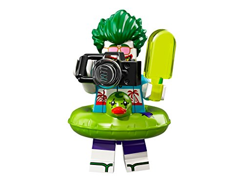 Joker Batman 2 Lego (THE LEGO® Batman® MOVIE™ 71020 Minifgur Figur Vacation The Joker mit 1x GALAXYARMS Saigabel und Katana in Gold (Vacation The Joker - coltlbm2-07))