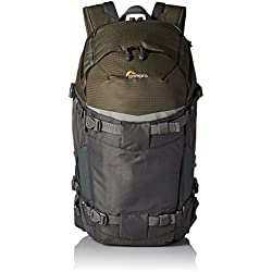 Lowepro Flipside Trek BP 350AW–Mochila para cámara, color gris/verde oscuro