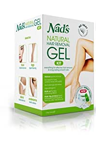 Nads Natural Hair Removal Gel, 6oz