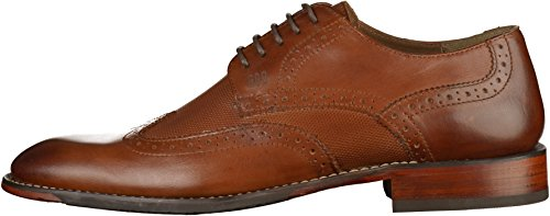 Gordon & Bros S160741 Herren Businessschuhe Braun(Dunkelbraun)