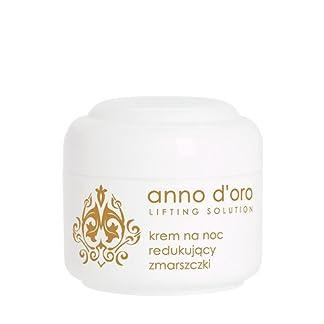 Ziaja. Anno D'oro. Crema para cara, de noche, antiarrugas para piel madura. A partir de 40 años. 50 ml