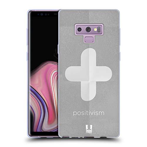 Head Case Designs Positivismus Philography Soft Gel Hülle für Samsung Galaxy Note9 / Note 9