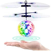 Baztoy Flying Ball, Kids Toys Remote Control Helicopter Mini Drone Magic RC Flying Toys with Shinning LED Lights Fun Gadgets for Boys Girls Kids Teenagers Adults - Compare prices and find best deal online