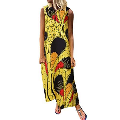 Damen Bodenlanges Kleid Jersey Tailliertes Maxikleid Große Größen