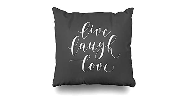 InnoDIY Throw Pillow Covers Her Gray