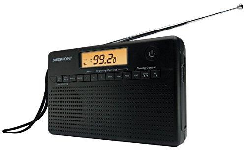 Preisvergleich Produktbild WELTEMPFÄNGER MEDION LIFE E66001 - Radio mit Wecker, Weltanzeige, LCD