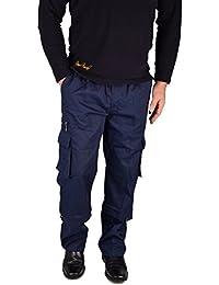 IWEA Herren 2-in-1 Cargohose Zip-Off Outdoor Freizeithose Arbeitshose Trekkinghose Cargo Pants IW058