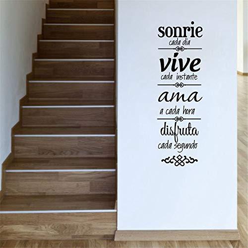 zlhcich Spanische HausordnungWandaufkleberHome Decoration spanische Version1 170 * 55cm