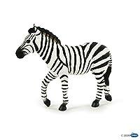 Papo 50249 Male zebra WILD ANIMAL KINGDOM Figurine, Multicolour