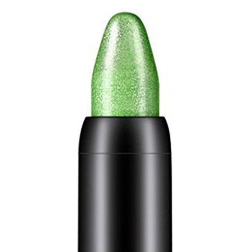 Internet 1PC Crayon fard à paupières de professionnelle de la beauté surligneur (Vert)