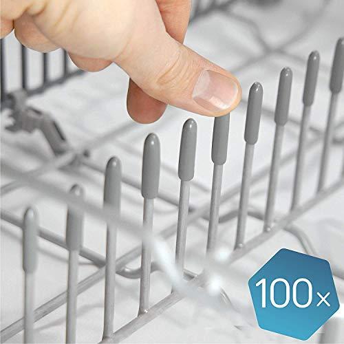 Las tapas lavavajillas originales de Plemont® [pack de 100] - Tapas accesorios universal de lavavajillas...