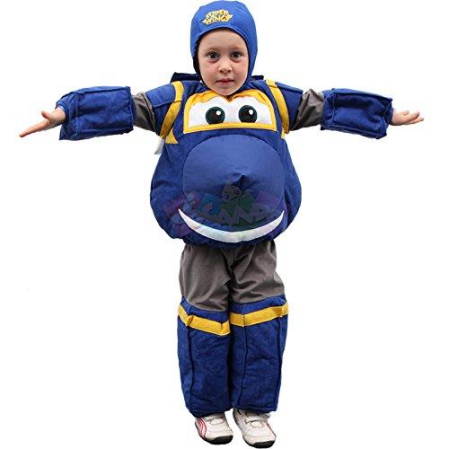 Costume super wings jerome deluxe 44198 tg. 3-4 anni giochi preziosi
