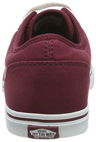 Vans W Atwood Low, Baskets mode femme Rouge (Burgundy/White)