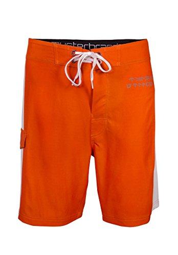 s Badeshorts Herren Rebel Pilot Orange L ()