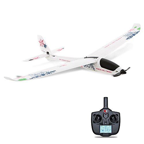 Zantec giocattolo bambini aereo modello telecomandato elettrico 4ch 780mm 3d6g sistema rc aliante compatibile futaba rtf