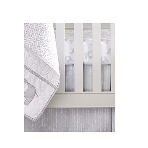 Wendy Bellissimo Dust Ruffle + Baby Crib Skirt from The...