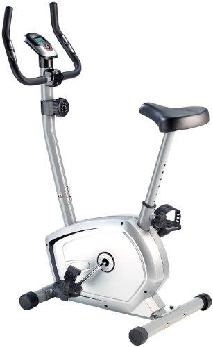 PEARL sports Fahrrad: Heimtrainer HT-540 mit Hand Pulsmesser, 4 kg Schwungmasse (Bike)
