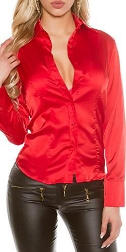 Fashion Chemisier - Femme Rouge