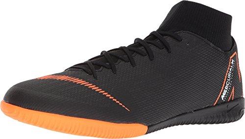 NIKE Herren SuperflyX 6 Academy IC Fußballschuhe, Schwarz (Black/Total Orange-W 081), 45.5 EU