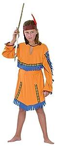 Fancy Dress Childrens | Indian Girl Medium (7-10) (disfraz)