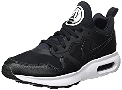 Nike Herren Air Max Prime Gymnastikschuhe - Schwarz (Black / Black / White) , 42 EU