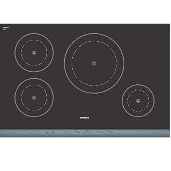 Siemens EH78P502E - Siemens EH78P502E - Table de cuisson à induction - 4 élément(s) - acier inoxydable brossé