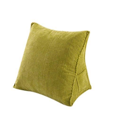 HALOViE Dreieck Kissen zurück Kissen 40 x 20 x 36 cm Sofa Bett Bürostuhl Rest Kissen zurück Unterstützung Wurf Kissen