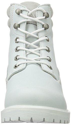 Tamaris 252, Bottes Classiques Femme Blanc (White Uni 120)