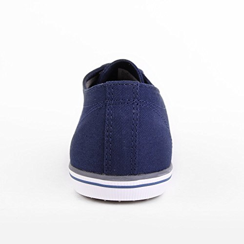 Fred Perry Kingston Leather B6237100, Baskets Mode Homme Bleu
