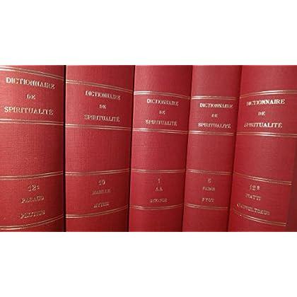 Dictionnaire spiritualité coll complete