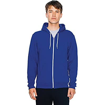 American Apparel Mens Flex Fleece Unisex Polycotton Zip Hoodie von American Apparel auf Outdoor Shop