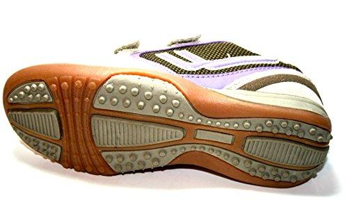 Killtec  MANON, Chaussures spécial sport en salle pour fille Gris - Grau (l'brown/creme)
