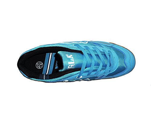 AGLA PROFESSIONAL CONDOR LIGHT INDOOR scarpe calcetto futsal calcio a 5 anti-shock Celeste