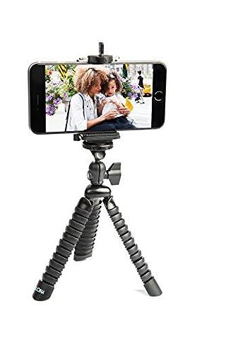 Support téléphone portable Trépied flexible et Photographie par loha avec guide