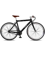 Vélo électrique de course ONE creme - Batterie : Panasonic 36V, 10,4 Ah - Autonomie : 90 KM - Poids : 13 KG sur amazon
