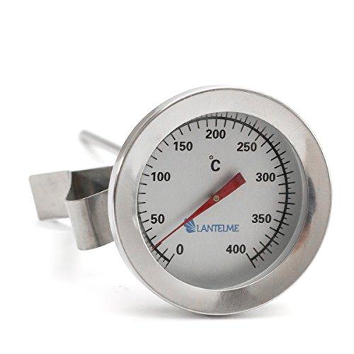 Lantelme 4859 Alanogue Waterproof Stainless Steel Thermometer