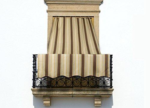 COINGROSTEX Tende da Sole per Esterno con Anelli, Misura: 145x250cm,...