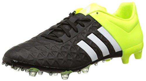 adidas Ace 15.2 Firm Artificial Ground, Herren Fußballschuhe, Mehrfarbig - Schwarz/Weiß/Lima - Größe: EU 40 -