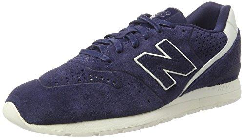 New Balance 996 Leather, Sneaker Uomo, Blu (Navy), 45 EU