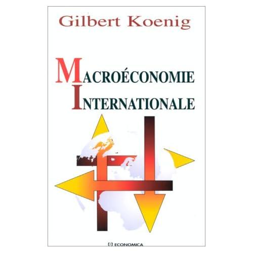 Macroéconomie internationale
