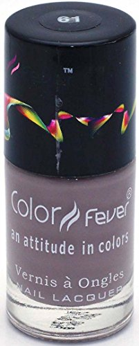 Color Fever Nude Collection  Nail Gloss, Violet, 9ml