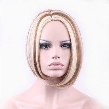 HJL-bobo 12 pouces en europe et aux ¨¦tats-unis le nouveau polyester teint brun dhort perruques de cheveux de nylon de cheveux , 12 inch