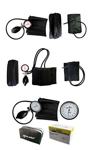 Sfigmomanometro Braccio 1tubo 1pezzi Sangue Misuratore di pressione Ki in velcro, con manicotto Med Gold 1Misuratori di pressione arteriosa - 3
