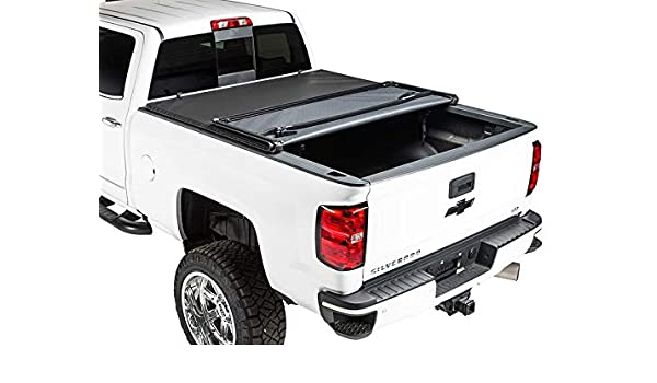Gator Pro Tri Fold Fits 2016 2019 Toyota Tacoma 5 Ft Bed Only Soft Folding Tonneau Truck Bed Cover Gsf1742 Amazon In Car Motorbike