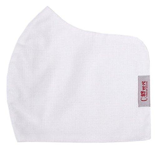 Alien Storehouse Große Staubschutzmaske Earloop Mund Gesicht antibakterieller Maske, Weiß (Zum Masken Weiße Verkauf)