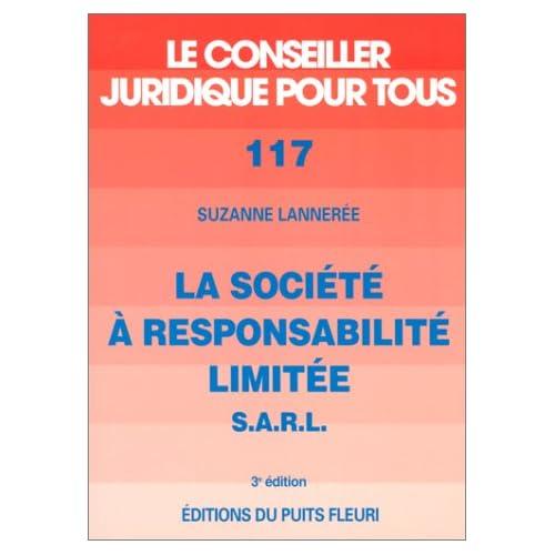 Société à responsabilité limitée, numéro 117, 3ème édition