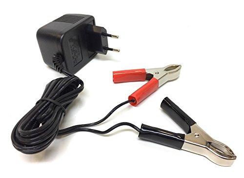Batterie Ladegerät für 12V 0,5A Roller Motorrad Mofa Moped Mokick Batterieladegerät für Aprilia, Piaggio, Peugeot, Suzuki, Honda, Yamaha