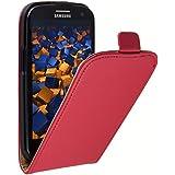 mumbi Flip Case Samsung Galaxy S3 Tasche Hülle rot